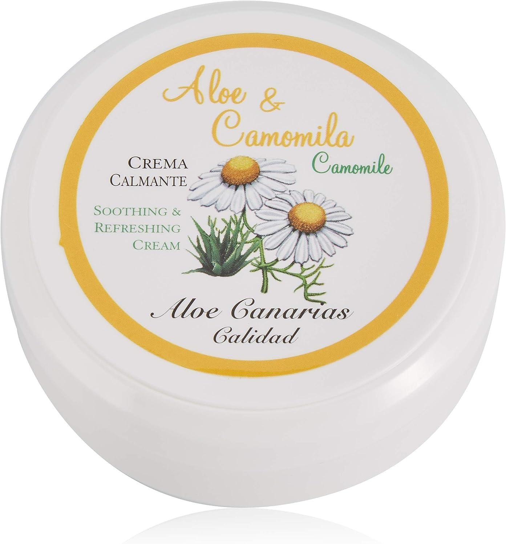 Aloe Canarias Crema Calmante y Refrescante de Aloe Vera y Camomila - 150 ml