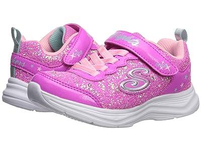SKECHERS KIDS Sport Lighted Glimmer Kicks 20267L (Little Kid/Big Kid) (Hot Pink/Pink) Girl