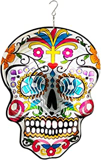 Best sugar skull wind spinner Reviews