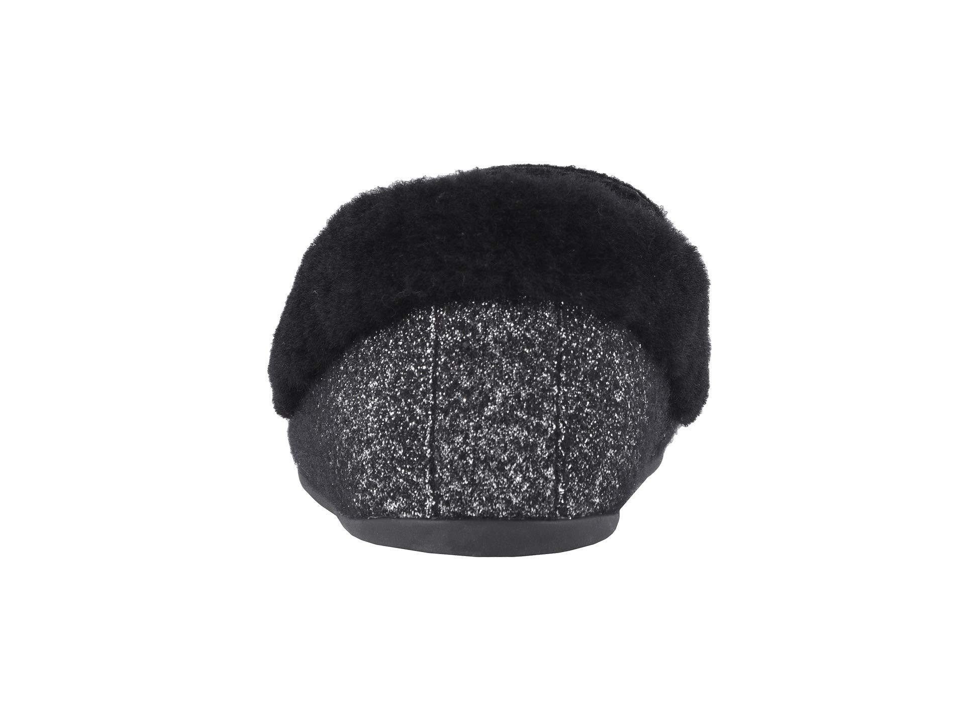 Glimmer Clara Black Moccasin Wool Fitflop fYw80qnz