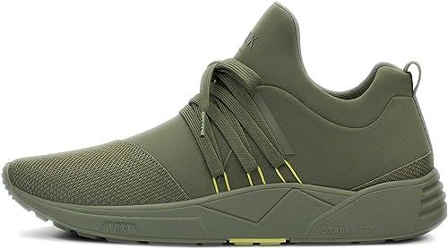 ARKK Copenhagen Herren Raven Mesh Turnschuhe Army Soft Gelb Gelb Gelb  Marke kaufen