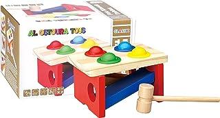 AL OSTOURA Educational Toys Fun Knock Tables Wooden