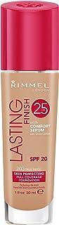 Rimmel London Lasting Finish Foundation 25H Base de Maquillaje Tono 203 True Beige - 30 ml