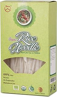 Tanisa - Organic rice noodles - Pho Vietnam, traditional dish, non-gmo, gluten free (white)