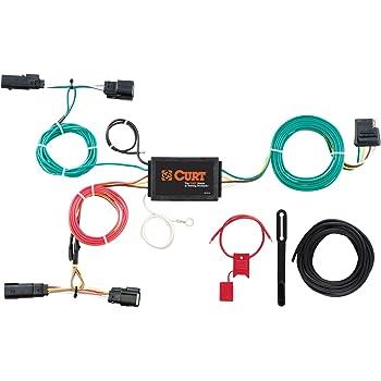 Amazon.com: CURT 56292 Vehicle-Side Custom 4-Pin Trailer Wiring Harness for  Select Ford Edge: AutomotiveAmazon.com