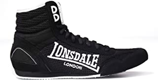 Lonsdale Comp/étiteur Boxe Haute Bottes Noir-blanc