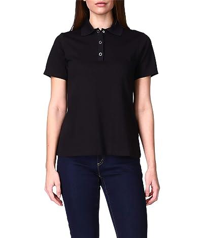 MICHAEL Michael Kors Solid Snap Short Sleeve Polo