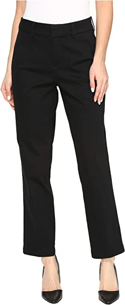 NYDJ Ankle Trousers in Black