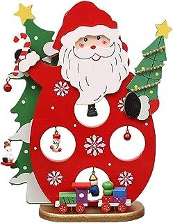 Riffelmacher Weihnachtsmann Dekofigur Schwarz Gold 15 cm Weihnachtsdekoration
