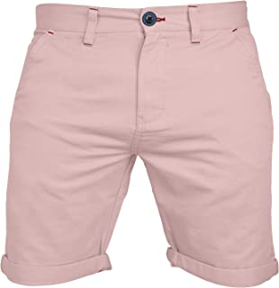 westAce Mens Stretch Chino Shorts Casual Flat Front Slim Fit Golf Shorts Spandex Half Pan (34, Baby Pink)