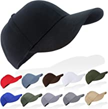 Tinya Baseball Cap Men Women: Plain Sports Adjustable Solid Youth Dad Ball Hat