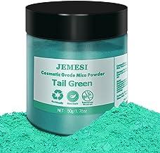 JEMESI 50g Epoxyhars Kleur, zeepkleur set metallic kleur harskleur, Mica Poeder Pigmenten Poeder voor zeep hars gegoten ha...