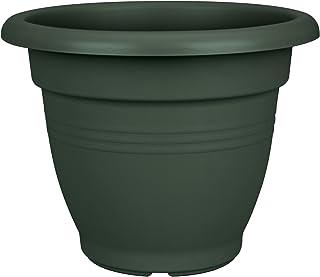 03680efa3ef447 elho Green Basics Campana Macetero, 7.6 litros, Verde, 29,2X29,2X23