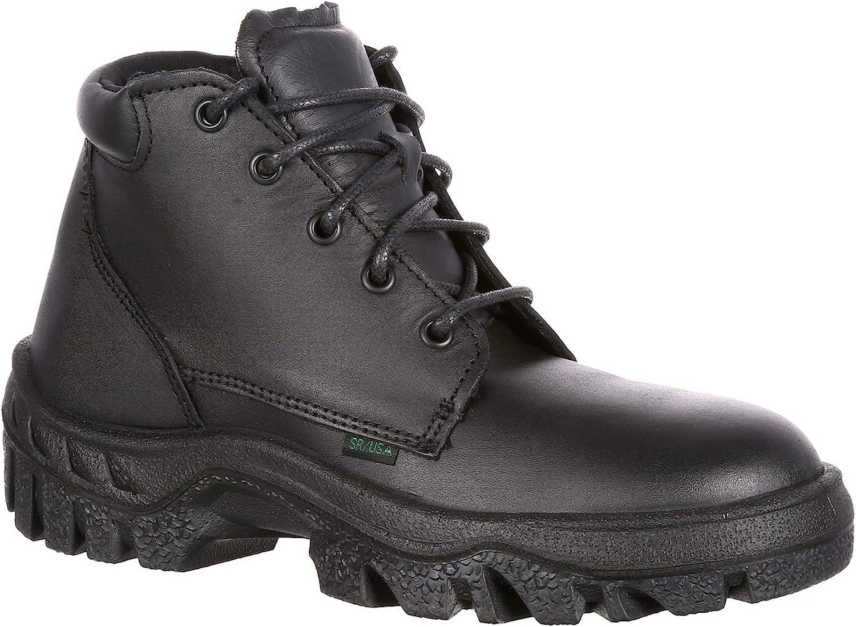 Rocky Women's TMC Postal Approved Chukka Duty Boot-5105 Black