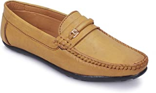POLLACHIEF Synthetic Casual Slip On Loafer/Mocassins Shoes for Men's