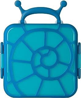 Boon Bento Lunch Box, Blue Snail