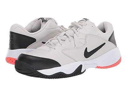 Nike Court Lite 2 (Light Bone/Black/Hot Lava/White) Men