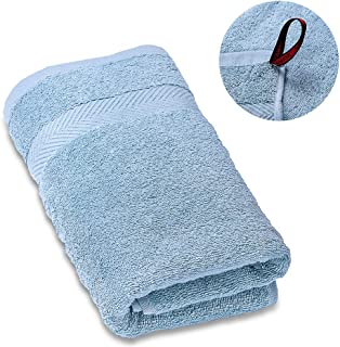 SEMAXE Soft Cotton Hand Towels and Fade-Resistant Towel, Light Blue, 16