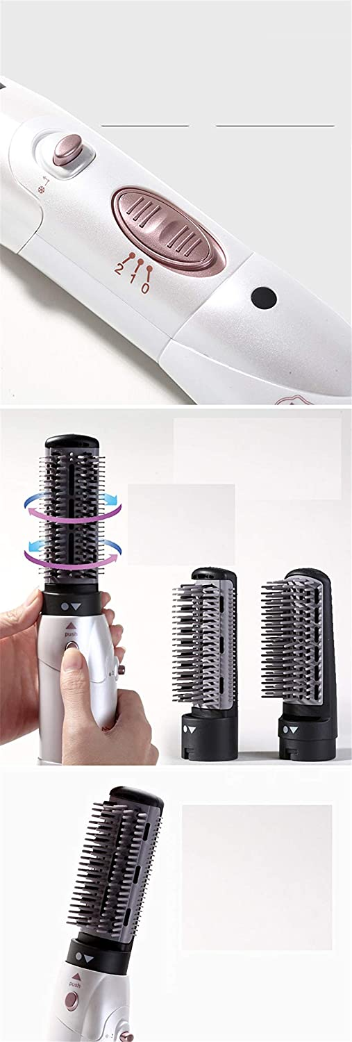 Hot Air Brush and Volumizer, Accellorize 2-In-1 Styler and Dryer Hot-Air Brushes for Styling and Frizz Free white 67Zja