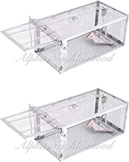 2 Pack Humane Trap Rats, Mouse, Squirrels