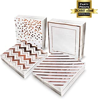 Best rose gold paper napkins Reviews