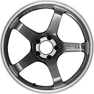 Yokohama Wheel Advan GT Hyper Black Wheel with Painted Finish (20x10