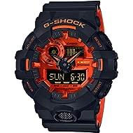 G-Shock GA-700 Ana-Digi Black Orange