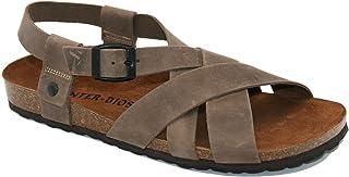 Sandalias Amazon esPiel Zapatos Y Para Hombre Chanclas TlFK1c3J