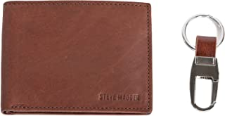 Steve Madden Summer 18 Mens Wallet, Brown, One Size - N80060