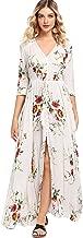 Best white maxi dress floral Reviews