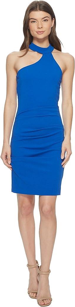 Nicole Miller Mock Neck Dress