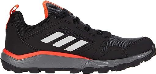 Black/Grey One/Solar Red