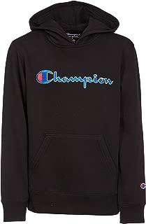 Youth Heritage Fleece Pull On Sweatshirt with Hood Black
