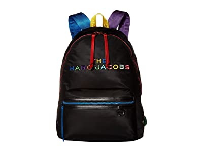 Marc Jacobs The Pride Backpack (New Black Multi) Backpack Bags