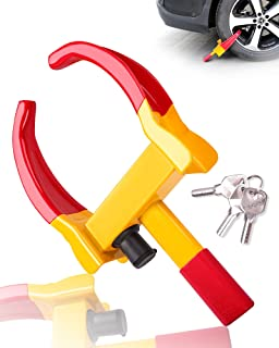 $29 » Sponsored Ad - Turnart Heavy Duty Wheel Lock Universal Security Trailer Wheel Locks Tire Anti Theft for Car ATV SUV Golf C...