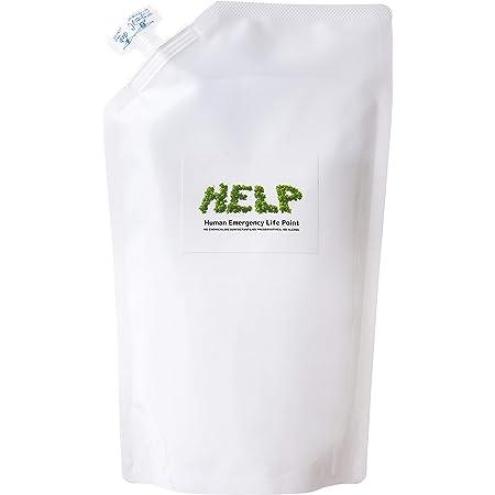 HELP 除菌スプレー 【除菌する菌を選ぶ除菌水】 1000ml 詰め替え用パック 無香料 アルコールフリー 飲めるほど安全 子どもも使える