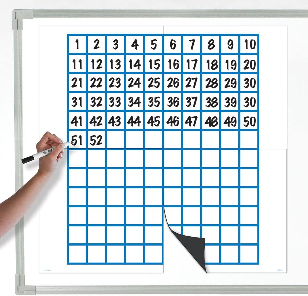 35% OFF Regular discount EAI Education Jumbo Magnetic Data Grid Board 120 Analysis