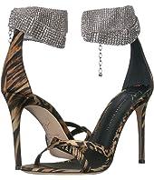 Giuseppe Zanotti - Janell Rhinestone Collar Crossover Heel Sandal