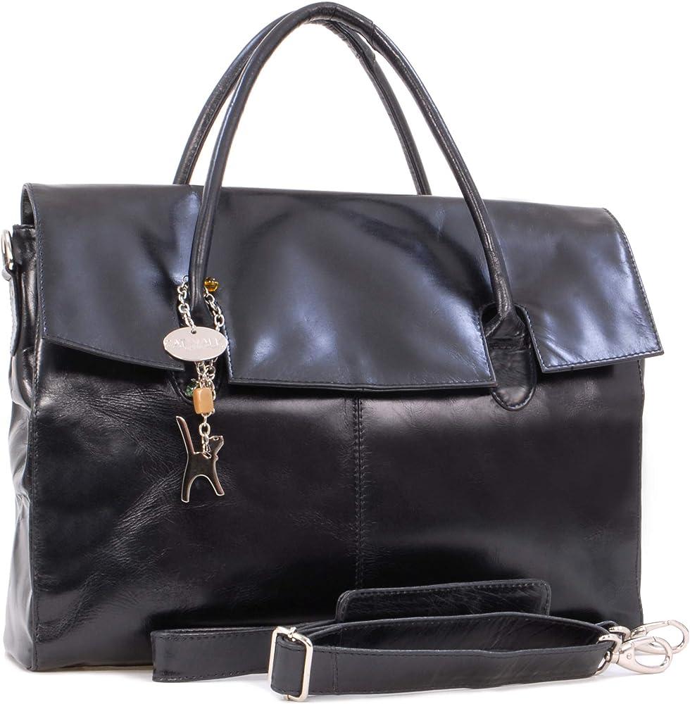 Catwalk collection grande borsa a mano/ tracolla da lavoro unisex porta pc portatile 5060167684159