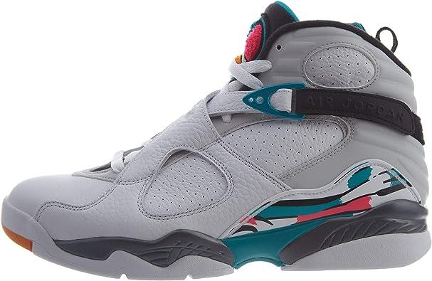 Nike Air Jordan 8 Retro, Chaussures de Sport Homme : Amazon.fr ...