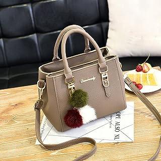 Wultia - Bags for Women 2019 Women Leather Handbag Shoulder Bag Messenger Satchel Shoulder Crossbody Bolsa Feminina Khaki