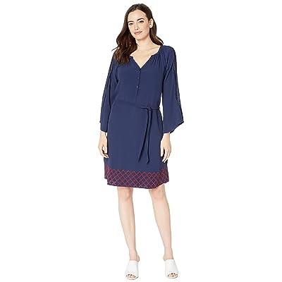 Hatley Hayley Dress (Navy Blue) Women