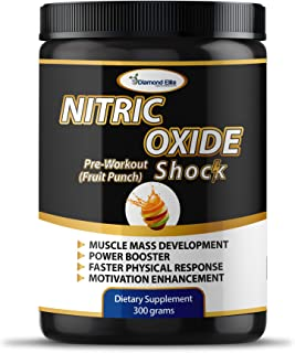 Nitric Oxide Supplement with L Arginine, L Citrulline - Natural Muscle Builder, Power Booster, Preworkout Drink for Vascul...