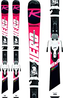 Rossignol Hero Jr/Xpress Jr 7 Ski Package Kid's