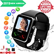 Smart Watch,Smartwatch for Android Phones, Smart Watches Touchscreen with Camera Bluetooth Watch...
