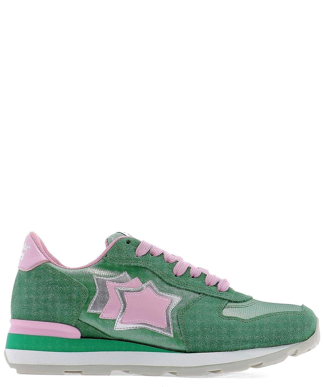 [アトランティックスターズ] レディース VEGAFSP13RS グリーン セーム 運動靴