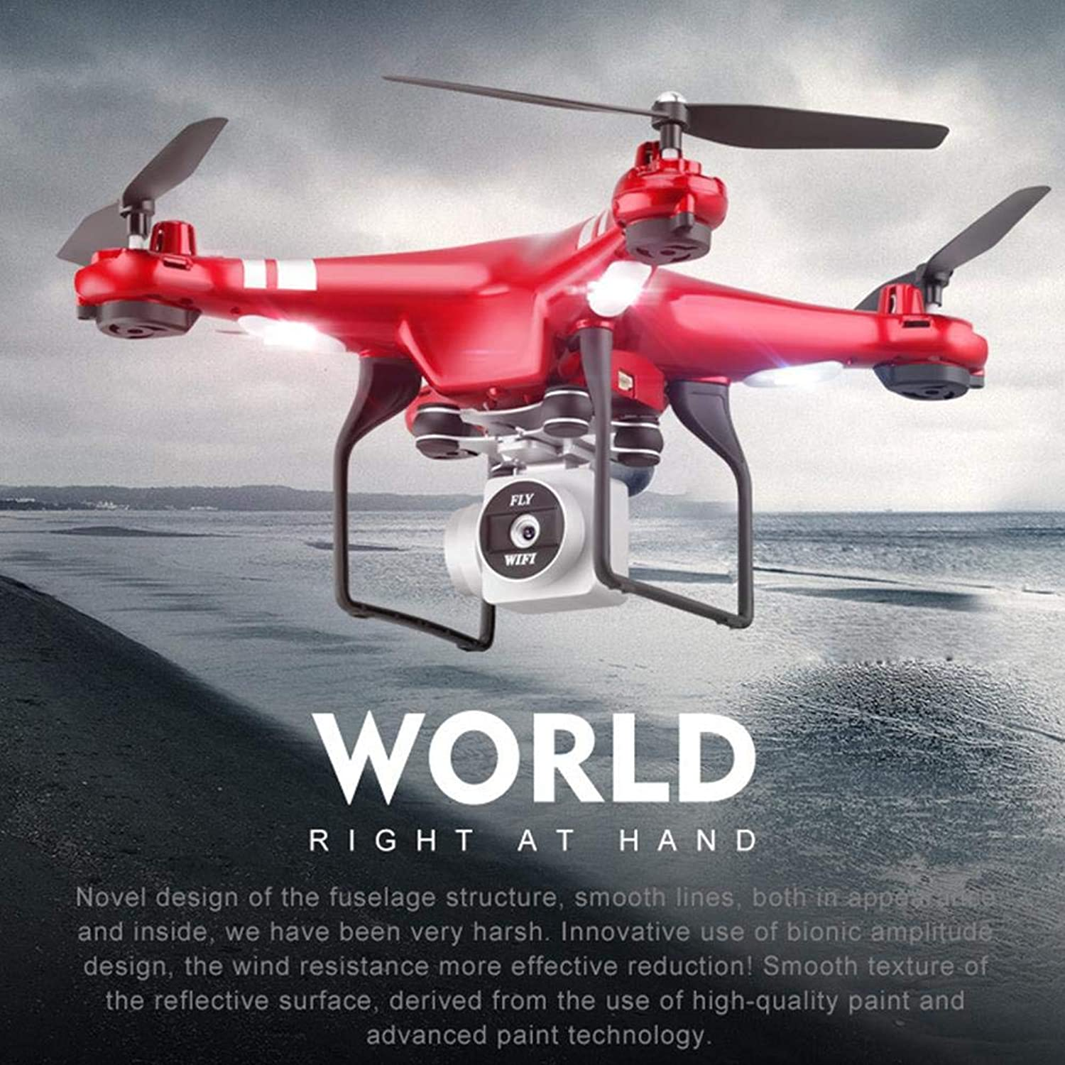 Ckground Quadcopter Aerial Photography Drone Remote Control Aircraft Four Axis WIFI Image Transmission X52HD Helicopter