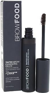 LashFood BrowFood Tinted Brow Enhancing Gelfix - Dark Brunette for Women - 0.27 oz