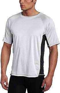 قميص سباحة مقاوم للطفح الجلدي بعامل حماية من الاشعة فوق البنفسجية +50 للرجال (مقاسات عادية وواسعة) من كانو سيرف