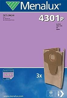 Kalorik y Solac Bolsas para aspiradoras Alaska Menalux 5804 Duraflow 4 unidades